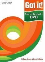 OUP ELT GOT IT! STARTER & 1 DVD - BOWEN, P., DELANEY, D. cena od 1457 Kč