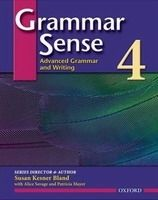 OUP ELT GRAMMAR SENSE 4 ADVANCED GRAMMAR AND WRITING STUDENT´S BOOK ... cena od 510 Kč