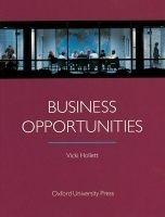 OUP ELT BUSINESS OPPORTUNITIES STUDENT´S BOOK - HOLLETT, V. cena od 398 Kč