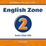OUP ELT ENGLISH ZONE 2 CLASS AUDIO CD - NEWBOLD, D., NOLASCO, R. cena od 418 Kč
