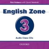 OUP ELT ENGLISH ZONE 3 CLASS AUDIO CD - NEWBOLD, D., NOLASCO, R. cena od 439 Kč