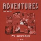 OUP ELT ADVENTURES PRE-INTERMEDIATE CLASS AUDIO CD /2/ - WETZ, B. cena od 418 Kč