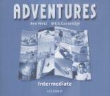 OUP ELT ADVENTURES INTERMEDIATE CLASS AUDIO CD /2/ - WETZ, B. cena od 439 Kč