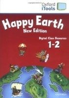OUP ELT HAPPY EARTH NEW EDITION 1+2 iTOOLS CD-ROM - BOWLER, B., PARM... cena od 933 Kč