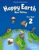 OUP ELT HAPPY EARTH NEW EDITION 2 CLASS BOOK - BOWLER, B., PARMINTER... cena od 244 Kč