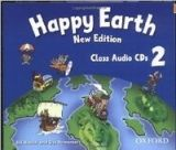 OUP ELT HAPPY EARTH NEW EDITION 2 CLASS AUDIO CDs /2/ - BOWLER, B., ... cena od 439 Kč