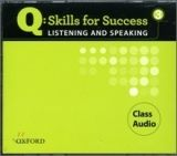 OUP ELT Q: SKILLS FOR SUCCESS 3 LISTENING & SPEAKING CLASS AUDIO CD ... cena od 626 Kč