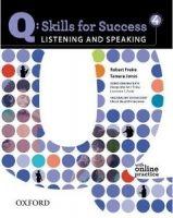 OUP ELT Q: SKILLS FOR SUCCESS 4 LISTENING & SPEAKING STUDENT´S BOOK ... cena od 442 Kč