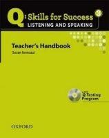 OUP ELT Q: SKILLS FOR SUCCESS 3 LISTENING & SPEAKING TEACHER´S HANDB... cena od 636 Kč