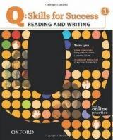 OUP ELT Q: SKILLS FOR SUCCESS 1 READING & WRITING STUDENT´S BOOK WIT... cena od 422 Kč