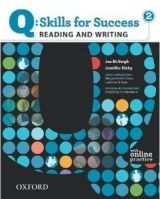 OUP ELT Q: SKILLS FOR SUCCESS 2 READING & WRITING STUDENT´S BOOK WIT... cena od 442 Kč