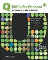 OUP ELT Q: SKILLS FOR SUCCESS 3 READING & WRITING STUDENT´S BOOK WIT... cena od 442 Kč