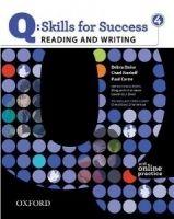 OUP ELT Q: SKILLS FOR SUCCESS 4 READING & WRITING STUDENT´S BOOK WIT... cena od 442 Kč