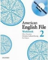 OUP ELT AMERICAN ENGLISH FILE 2 WORKBOOK WITH CD-ROM PACK - KOENIG, ... cena od 203 Kč