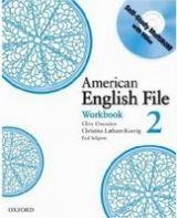 OUP ELT AMERICAN ENGLISH FILE 2 WORKBOOK WITH CD-ROM PACK - KOENIG, ... cena od 203 Kč
