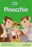 OUP ELT FAMILY AND FRIENDS READER 3C PINOCCHIO - ARENGO, S. cena od 84 Kč