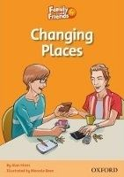 OUP ELT FAMILY AND FRIENDS READER 4D CHANGING PLACES - HINES, A. cena od 84 Kč