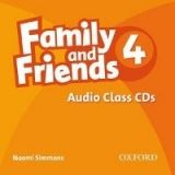 XXL obrazek OUP ELT FAMILY AND FRIENDS 4 CLASS AUDIO CD - SIMMONS, N.