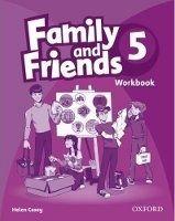 OUP ELT FAMILY AND FRIENDS 5 WORKBOOK - CASEY, H. cena od 172 Kč