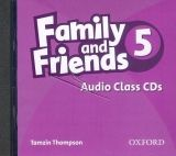 XXL obrazek OUP ELT FAMILY AND FRIENDS 5 CLASS AUDIO CD - SIMMONS, N.
