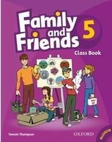 Casey H.: Family and Friends 5 Course Book with MultiRom Pack - Casey H. cena od 250 Kč
