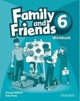 OUP ELT FAMILY AND FRIENDS 6 WORKBOOK - PELTERET, Ch., PENN, J. cena od 176 Kč