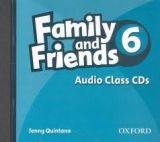 XXL obrazek OUP ELT FAMILY AND FRIENDS 6 CLASS AUDIO CD - THOMPSON, T.