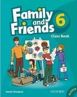 OUP ELT FAMILY AND FRIENDS 6 COURSE BOOK WITH MULTIROM PACK - THOMPS... cena od 271 Kč