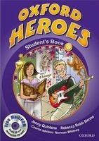 OUP ELT OXFORD HEROES 3 STUDENT´S BOOK + MULTIROM PACK - BENNE, R., ... cena od 350 Kč