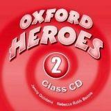 OUP ELT OXFORD HEROES 2 CLASS AUDIO CDs /2/ - BENNE, R., QUINTANA, J... cena od 418 Kč