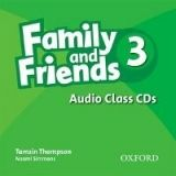 XXL obrazek OUP ELT FAMILY AND FRIENDS 3 CLASS AUDIO CDs /3/ - THOMPSON, T.