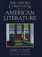 OUP References OXFORD COMPANION TO AMERICAN LITERATURE - HART, J. D. cena od 1 142 Kč
