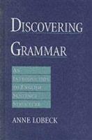 OUP ELT DISCOVERING GRAMMAR: AN INTRODUCTION TO ENGLISH SENTENCE STR... cena od 1271 Kč