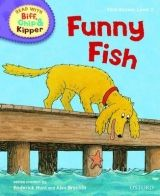 OUP ED READ WITH BIFF, CHIP & KIPPER FIRST STORIES STAGE 2: FUNNY F... cena od 130 Kč