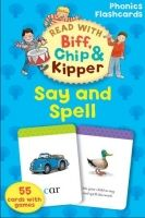 OUP ED READ WITH BIFF, CHIP & KIPPER SAY & SPELL PHONICS FLASHCARDS... cena od 140 Kč