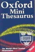 OUP References OXFORD MINI THESAURUS 3rd Edition - NIXON, M. cena od 0 Kč