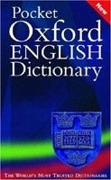 XXL obrazek OUP References POCKET OXFORD ENGLISH DICTIONARY 10th Edition - ELLIOTT, J.,...