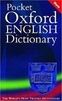 OUP References POCKET OXFORD ENGLISH DICTIONARY 10th Edition - ELLIOTT, J.,... cena od 235 Kč