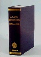 OUP References OXFORD LATIN DICTIONARY - LEWIS, C. T., SHORT, C. cena od 2 876 Kč