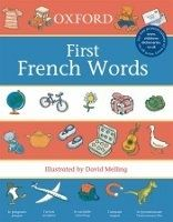 OUP ED OXFORD FIRST FRENCH WORDS - MELLING, D., MORRIS, N. cena od 168 Kč