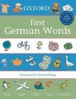 OUP ED OXFORD FIRST GERMAN WORDS - MELLING, D., MORRIS, N. cena od 168 Kč