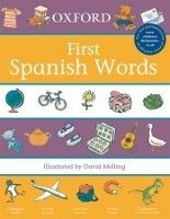 OUP ED OXFORD FIRST SPANISH WORDS - MELLING, D., MORRIS, D. cena od 168 Kč