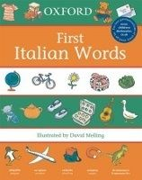 OUP ED OXFORD FIRST ITALIAN WORDS - MELLING, D., MORRIS, N. cena od 212 Kč