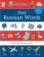 OUP ED OXFORD FIRST RUSSIAN WORDS - MELLING, P., MORRIS, N. cena od 144 Kč
