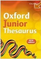 XXL obrazek OUP ED OXFORD JUNIOR THESAURUS - DIGNEN, S.