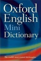 OUP References OXFORD ENGLISH MINIDICTIONARY 7th Edition - HOLE, G. cena od 122 Kč