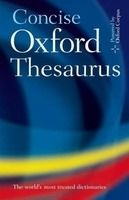 OUP References CONCISE OXFORD THESAURUS 3rd Edition - OXFORD cena od 482 Kč