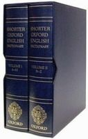 OUP References SHORTER OXFORD ENGLISH DICTIONARY 6th Edition /Leather Bound... cena od 6026 Kč