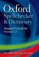OUP References OXFORD SPELLCHECKER AND DICTIONARY on CD-ROM Version 1.2 - O... cena od 422 Kč