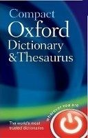 OUP References COMPACT OXFORD DICTIONARY AND THESAURUS Third Edition - OXFO... cena od 374 Kč